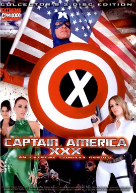 Rent Captain America XXX DVD