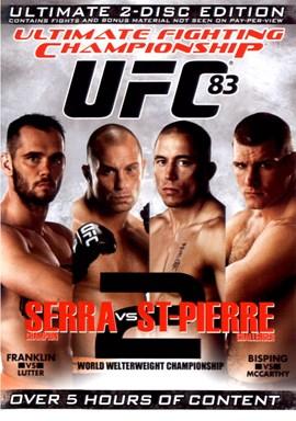 Rent UFC 83: Serra vs St-Pierre (Disc 01) DVD