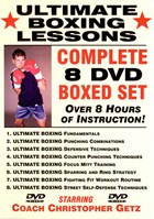 Ultimate Boxing with Chris Getz Vol. 01 Front Cover