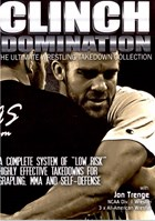 Clinch Domination Wrestling Takedown System 01 Front Cover