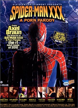 Rent Spider-Man XXX: A Parody DVD