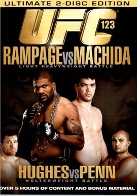 Rent UFC 123: Rampage Vs Machida (Disc 01) DVD