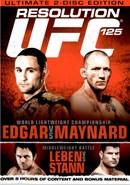UFC 125: Edgar Vs Maynard (Disc 01)