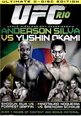 Rent UFC 134 Rio: Silva Vs Okami (Disc 01) DVD
