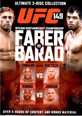 Rent UFC 149: Faber Vs Barao (Disc 01) DVD