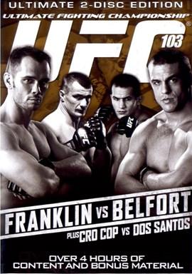 Rent UFC 103: Franklin Vs Belfort (Disc 01) DVD