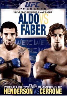 Rent WEC: Featherweight Championship Aldo Vs Faber DVD