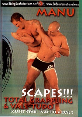 Rent Total Grappling Vale Tudo Scapes by Manu DVD