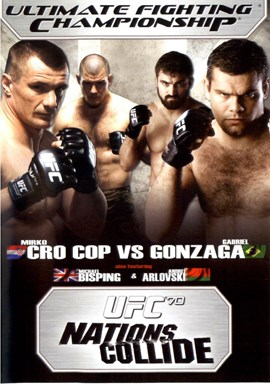 Rent UFC 70: Nations Collide DVD