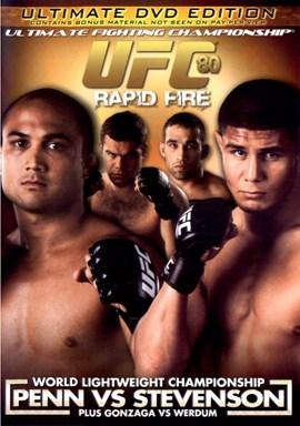 Rent UFC 80: Rapid Fire DVD