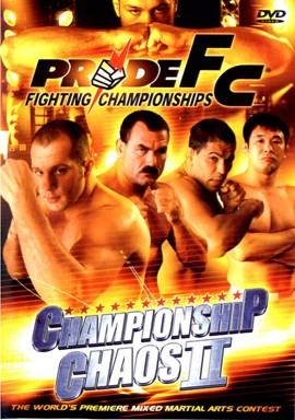 Rent Pride FC 23: Championship Chaos 02 DVD