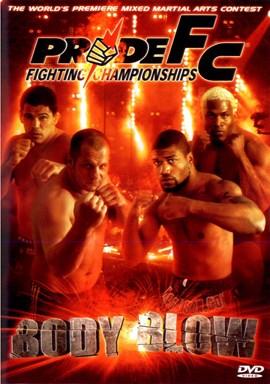 Rent Pride FC 25: Body Blow DVD
