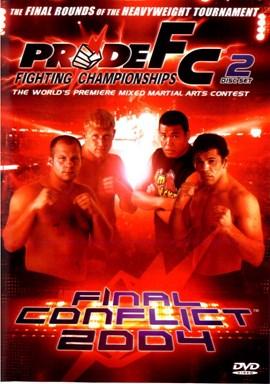 Rent Pride FC: Final Conflict 2004 (Disc 01) DVD
