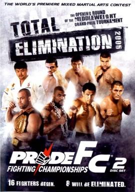 Rent Pride FC: Total Elimination 2005 (Disc 01) DVD