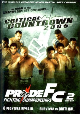 Rent Pride FC: Critical Countdown 2005 (Disc 01) DVD