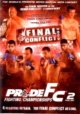 Rent Pride FC: Final Conflict 2005 (Disc 01) DVD