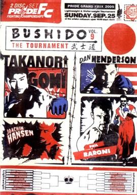 Rent Pride FC: Bushido 09 (Disc 01) DVD