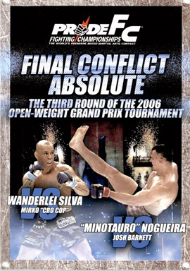 Rent Pride FC: Final Conflict Absolute 2006 DVD