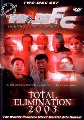 Rent Pride FC: Total Elimination 2003 (Disc 01) DVD