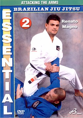 Rent Essential Brazilian Jiu-jitsu by Renato Magno 02 DVD