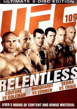 Rent UFC 109: Relentless (Disc 02) DVD