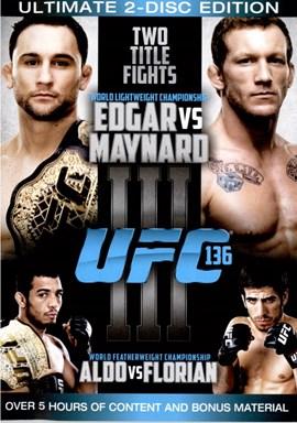 Rent UFC 136: Edgar Vs Maynard (Disc 02) DVD
