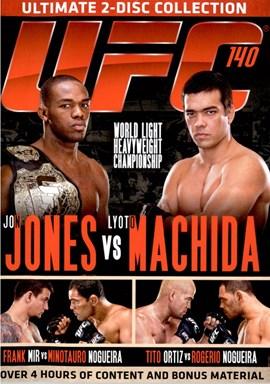 Rent UFC 140: Jones Vs Machida (Disc 02) DVD