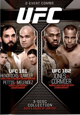 Rent UFC 182 Main Card: Jones Vs Cormier DVD