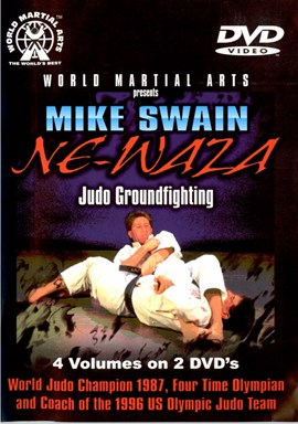 Rent NeWaza Judo Ground Fighting by Mike Swain (Disc 2) DVD