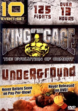 Rent King of the Cage 25 and 27: Flaming Fury and After DVD