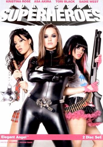 Rent Pornstar Superheroes (Bonus Disc) DVD