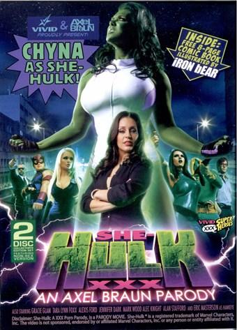 Rent She-Hulk XXX (Bonus Disc) DVD